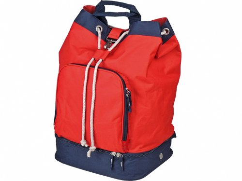 Backpack With Shoe Storage.Backpack With Shoe Bag 851 Red