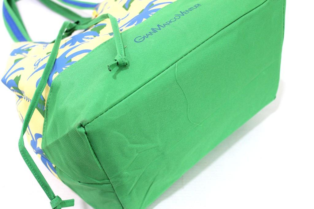 Borsa Donna Gian Marco Venturi Sacca Moda Mare linea Palme 15043 Verde