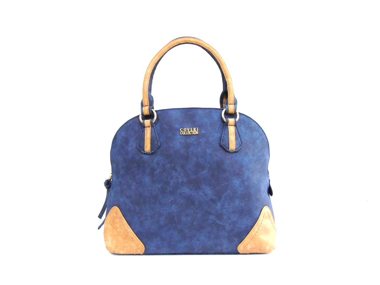 Blu shopping 2 A Borsa Mod Collection Coveri Mano Donna 172227 qVSMzpUG
