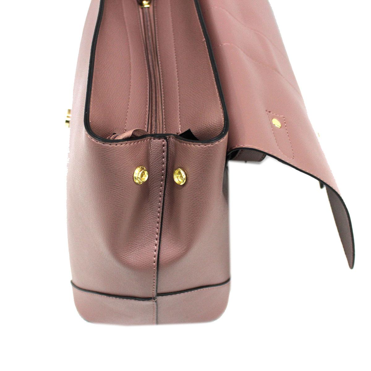 ... Borsa donna in SIMILPELLE shopping a mano LANCETTI linea classic 7514  rosa Colore  ... d79ff541abc
