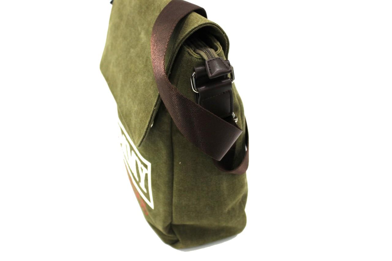 Borsello uomo tracolla con pattina TOMMY BARBADOS LINEA NARCISO narc627 verde