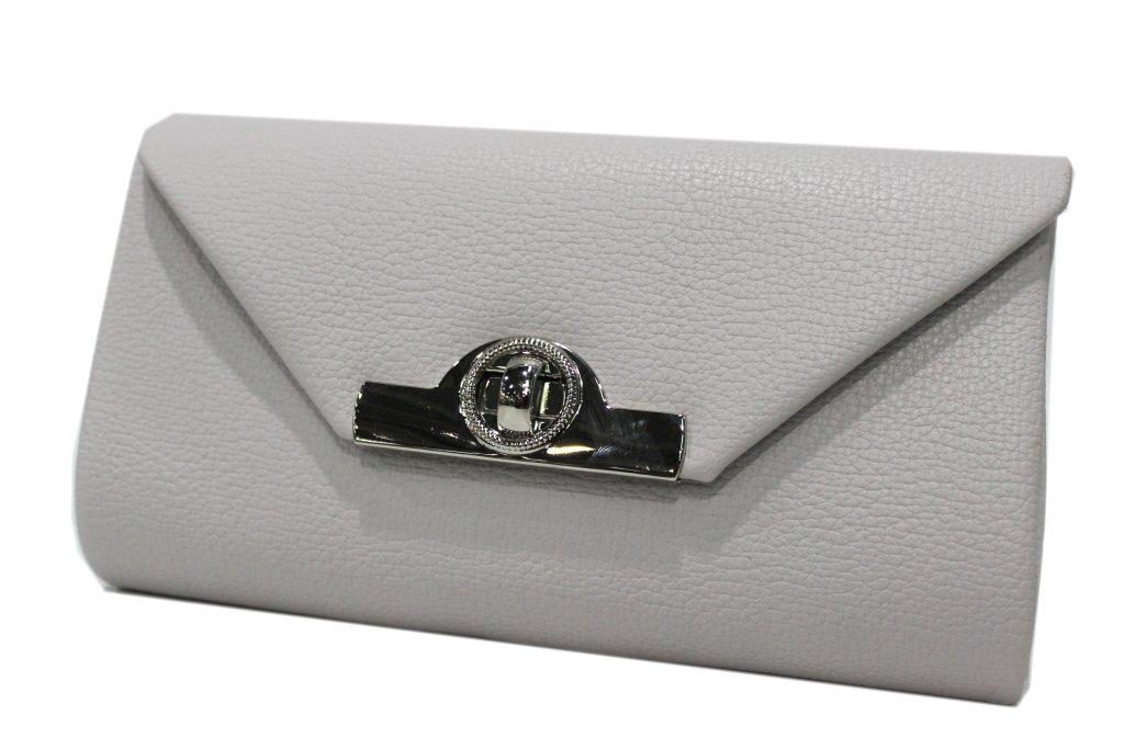 Women s Handbag classic line Michelle moon hd677 grey a18ec8112155b