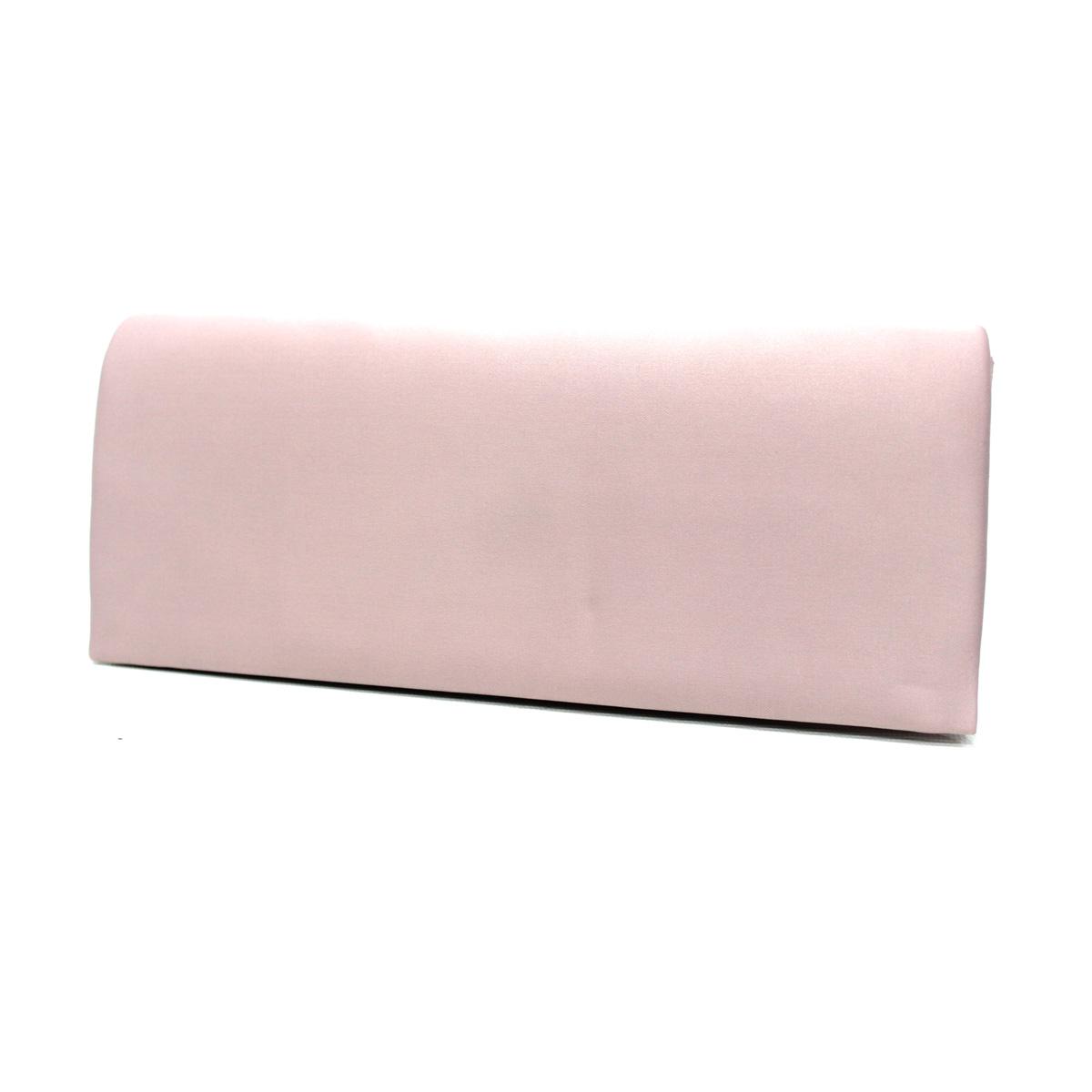 nuovi arrivi bc4ec a2065 Borsetta donna pochette clutch borsa da sera a mano in raso con pattina  38354