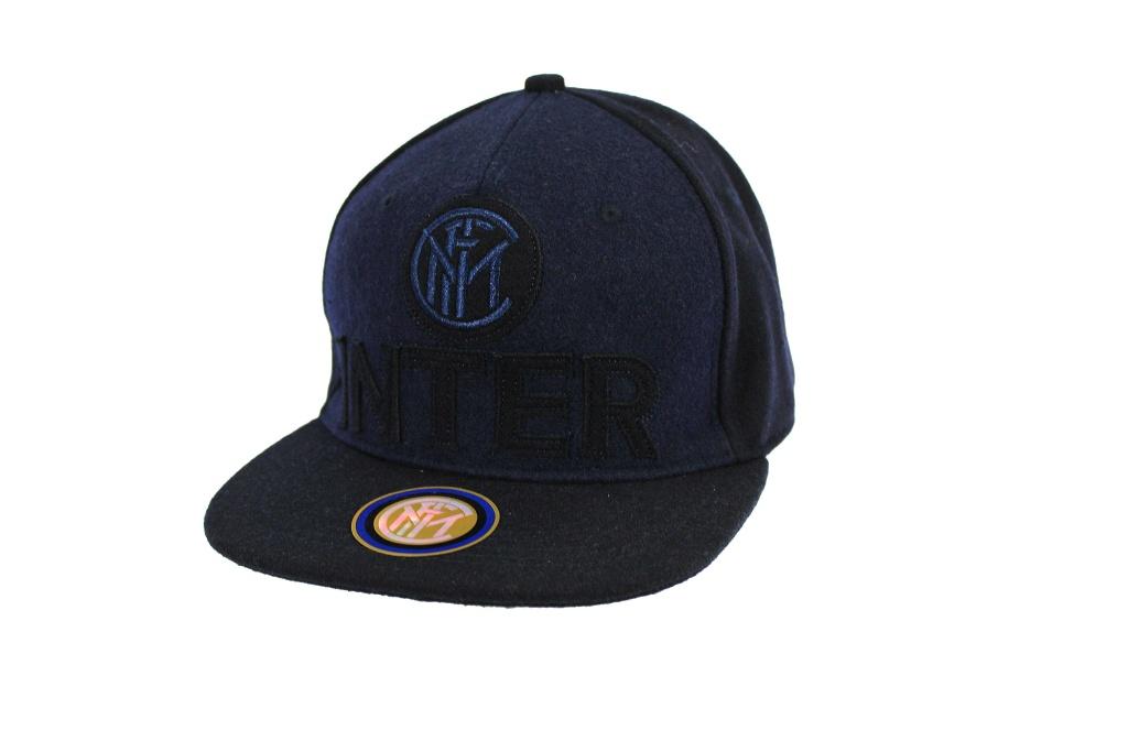 Cappello Uomo modello baseball INTER CON VISIERA PIATTA berretto tifoso  15446 2969107ef398