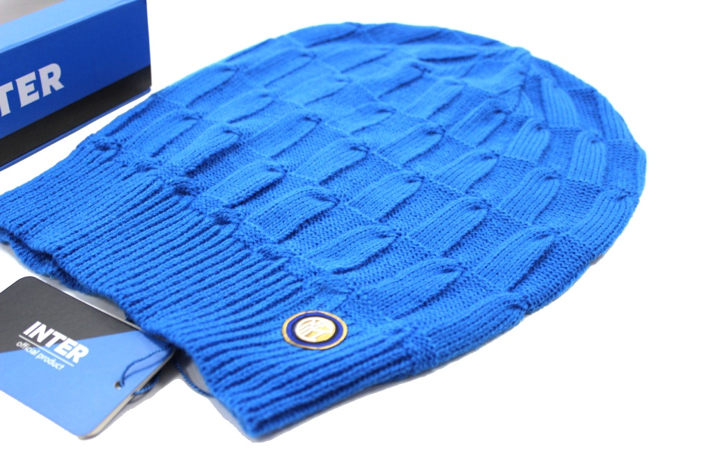 Cappello Uomo 100% acrilico cuffia rasta INTER berretto tifoso ... 8331e4ba80f8