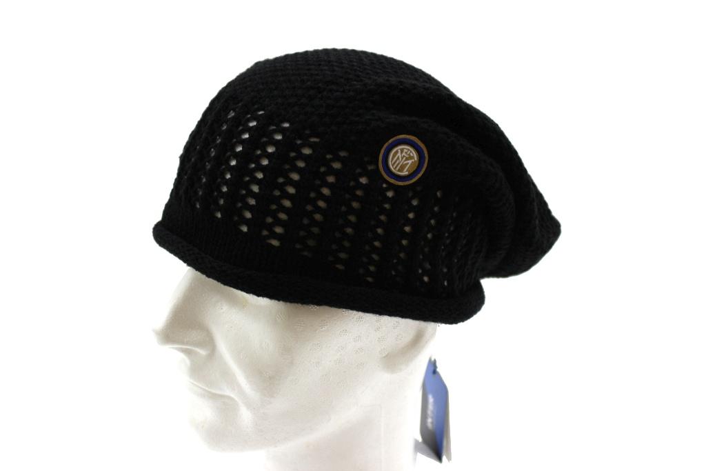 Cappello Uomo 100% acrilico cuffia rasta INTER berretto tifoso nerazzurro  15156 5a9c1323da71
