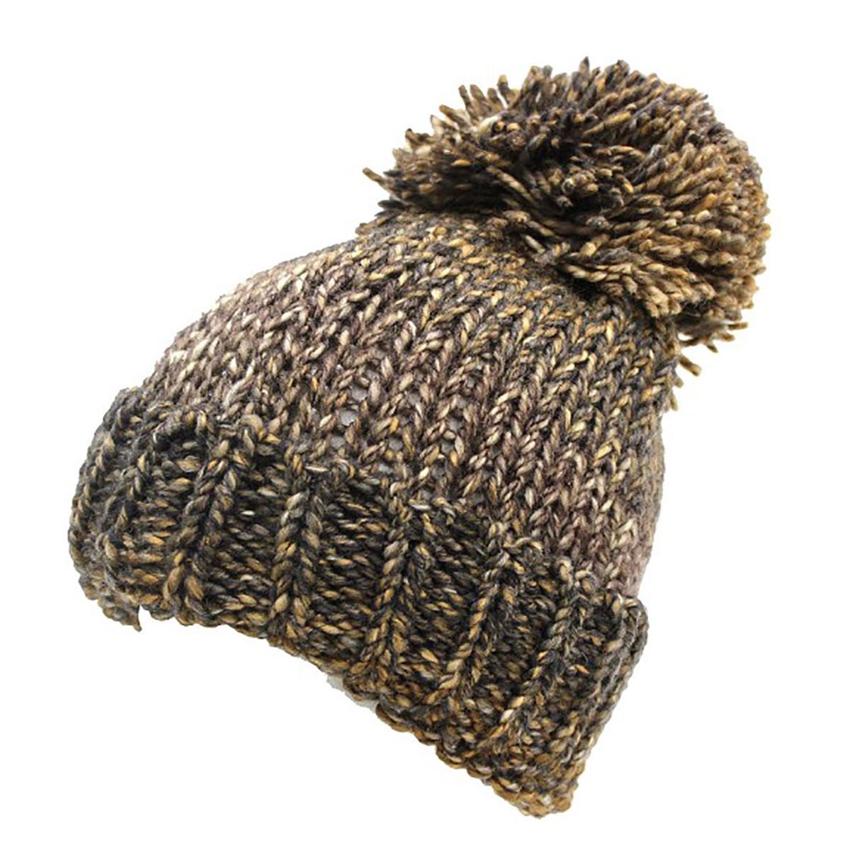 Cappello donna modello cuffia a maglia MADE IN ITALY misto lana 1026d beige 4a879f2fb2d0