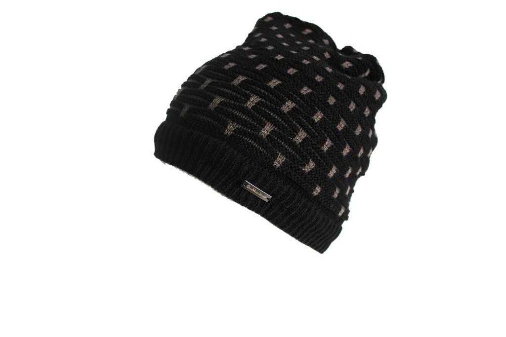 Cappello scaldacollo reversibile Gian Marco Venturi 61341.NERO a7957b13b44f