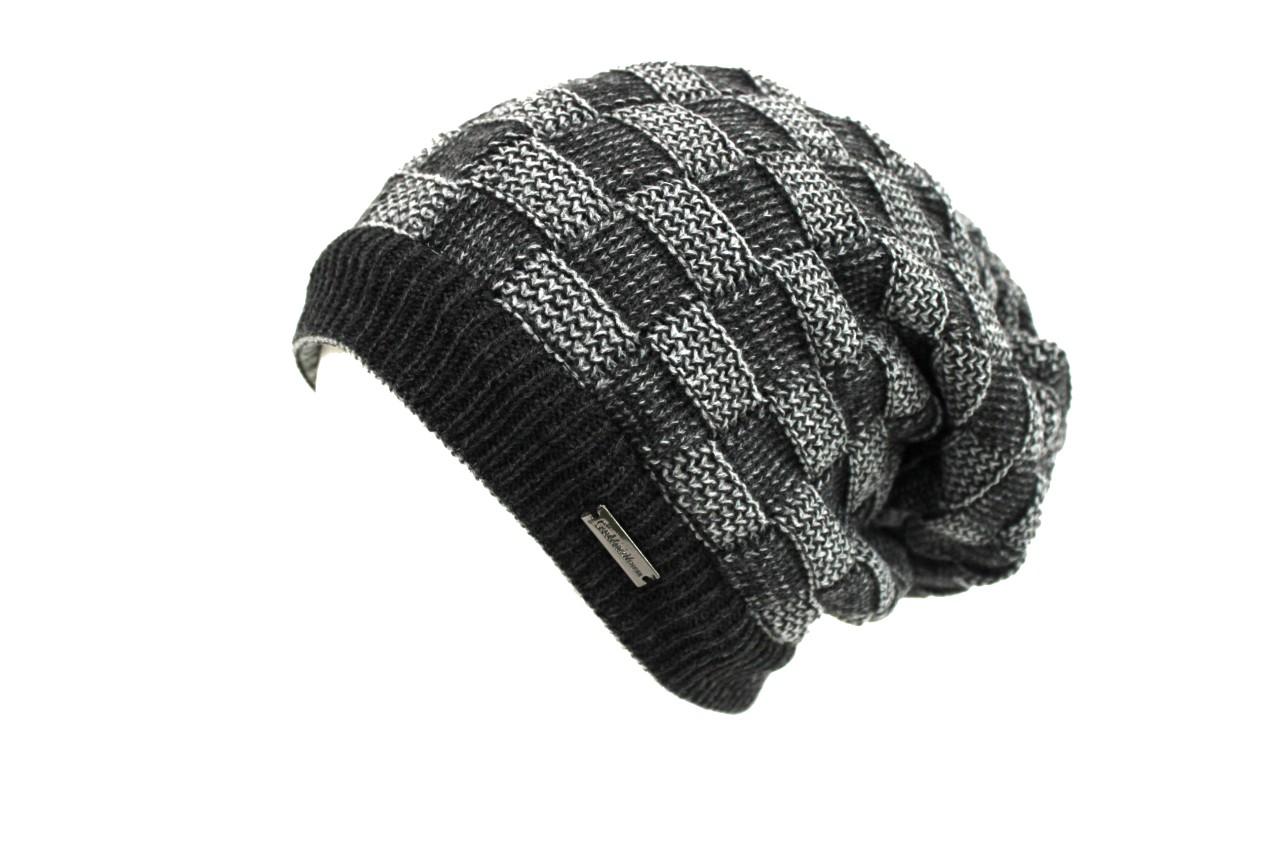 Cappello scaldacollo uomo Gian Marco Venturi mod.zuccotto reversibile 61717 grigio  scuro bb804a5a9d46
