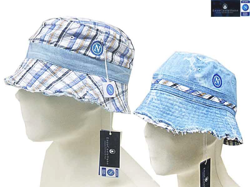 Cappello uomo 100% cotone PESCATORE double SSC NAPOLI BY Enzo Castellano  9618 f2 7889d1049745