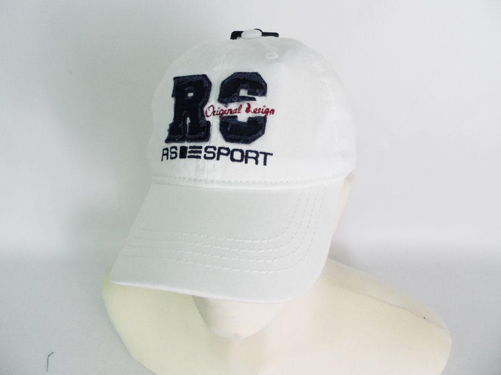 Man s Hat Baseball line R.sport 7702 White 4553d4a0463e
