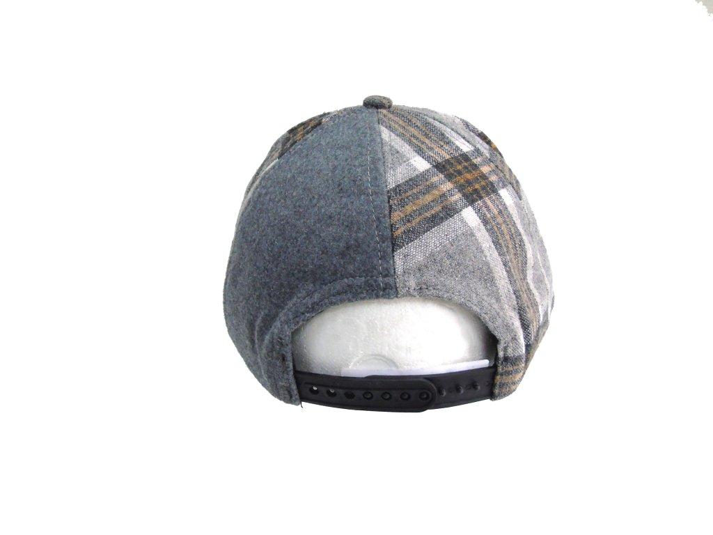 ... Cappello uomo modello Baseball visiera piatta Charro 18267 grigio chiaro 8d4abe47436c