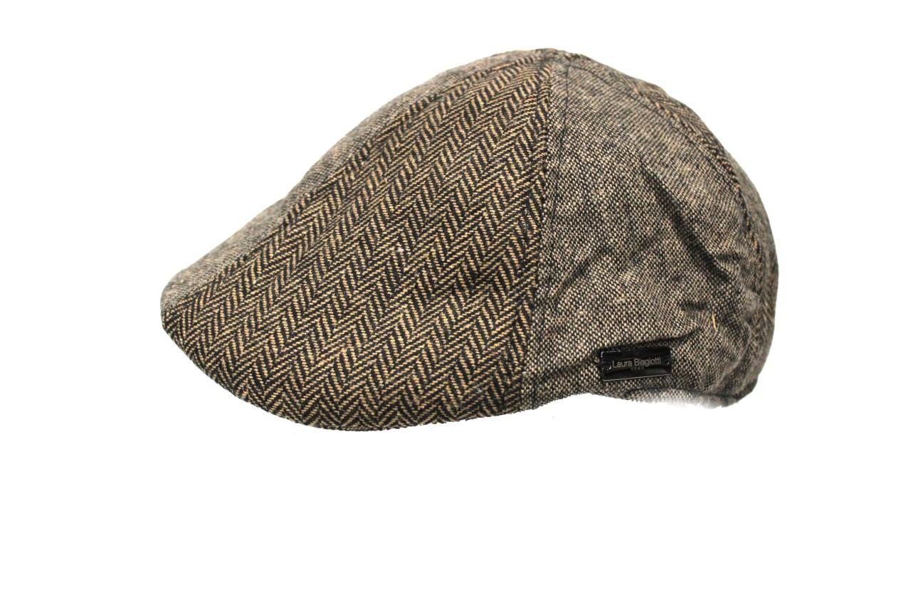 Cappello uomo 95% poliestere 5% lana COPPOLA taglia 58 LAURA BIAGIOTTI  17402 mar f0e5dac21e88