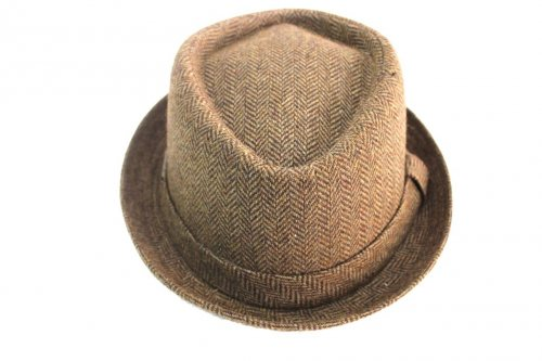 Man s Hat size 57 trilby model Laura Biagiotti 19087 brown dfb9c45a1c01