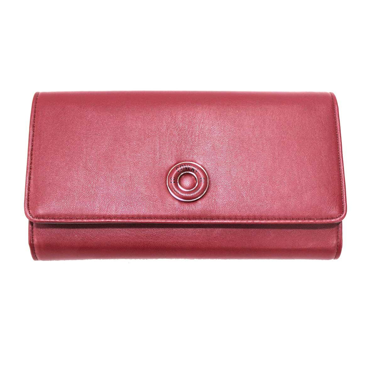 Mini borsa donna in ecopelle Contemporary Coveri 509 97 bordeaux