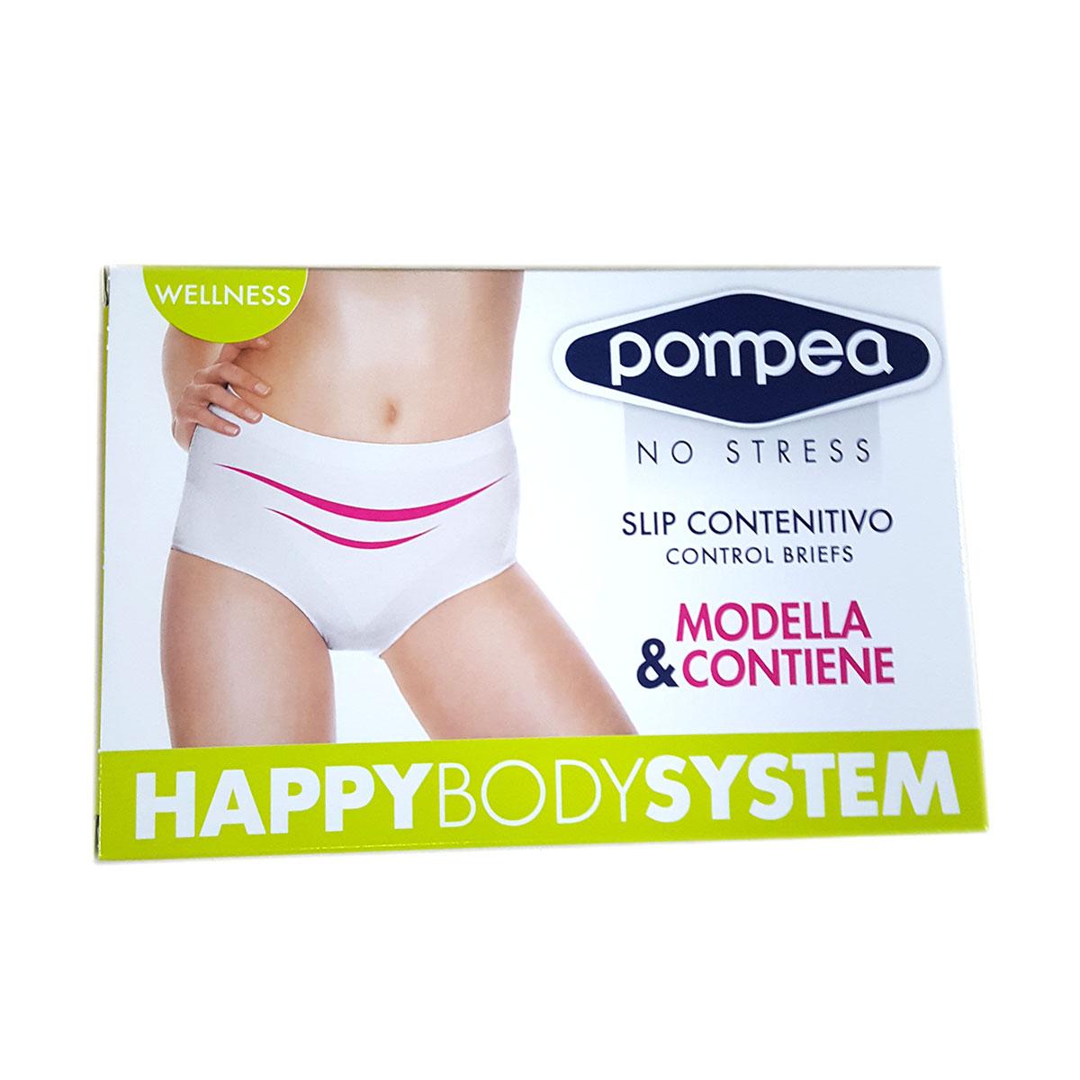 Pompea Slip Contenitivo Wellness Nero