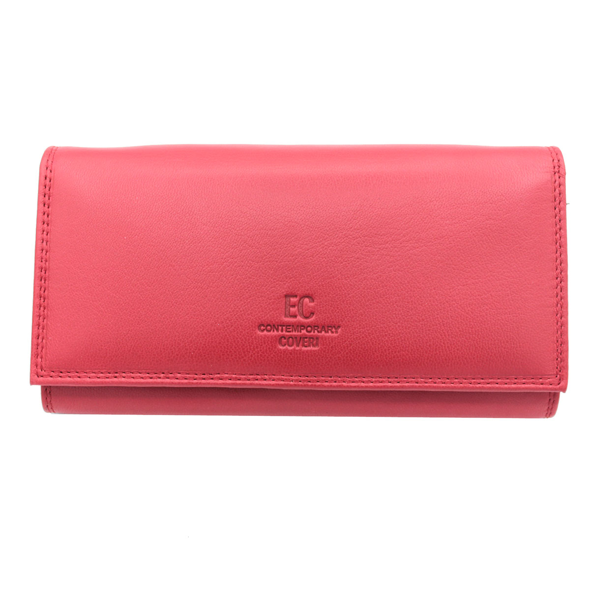 afe3574399 Portafoglio donna PELLE portamonete portafoto CONTEMPORARY COVERI 826-G105  rosso