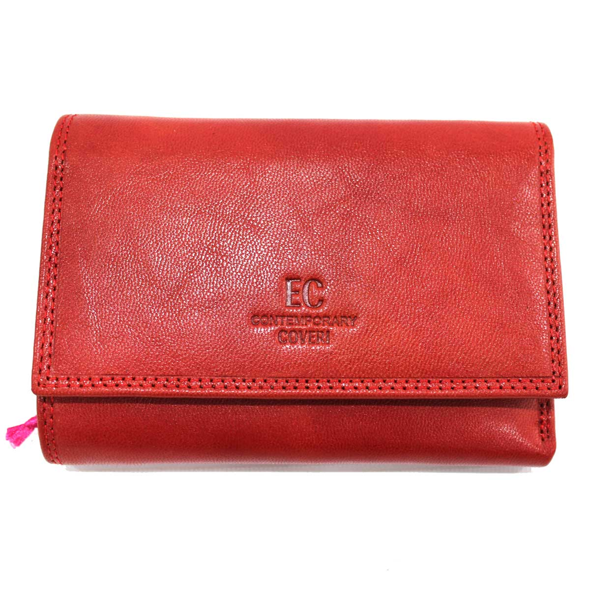 48d91bed4b Women's LEATHER wallet with coin purse CONTEMPORARY COVERI 171-156 red  Colour: Red