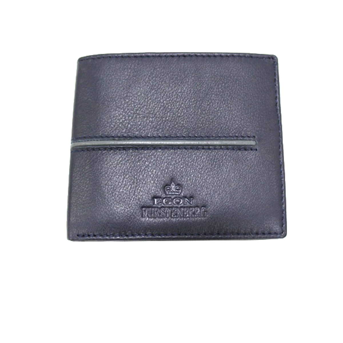 cheap for discount available cheap sale Men's leather wallet no coin purse credit card holder Egon Furstenberg  514-4 blu