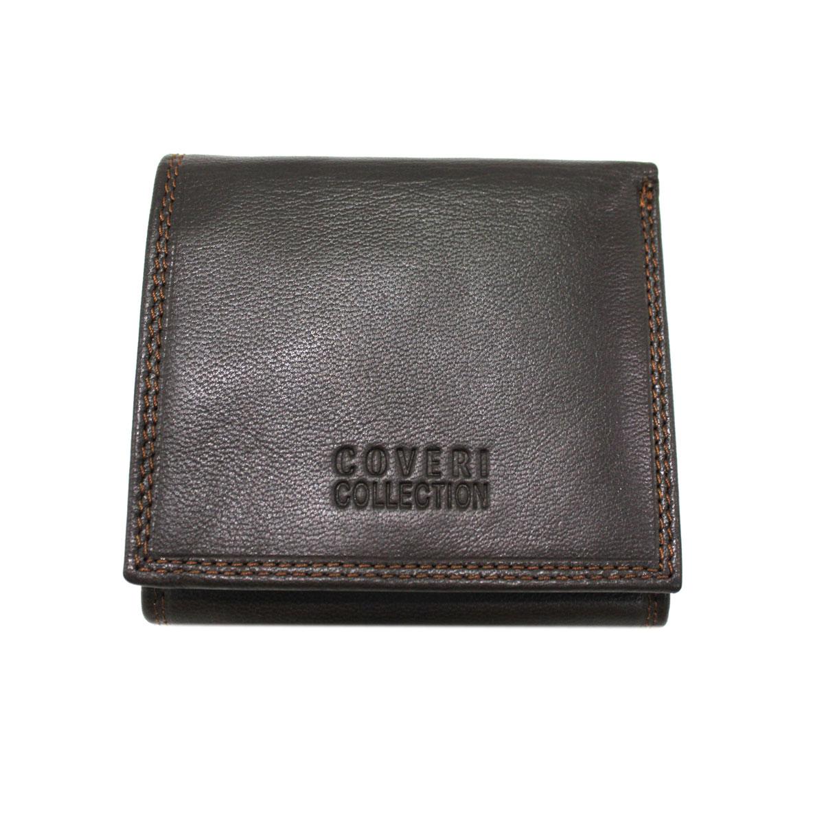 a8ffdd3773 Portafoglio uomo pelle modello piccolo portamonete Coveri Collection  304-146 brw