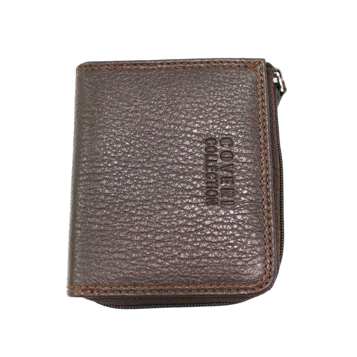 vendita calda online 2d1d5 ce698 Portamonete uomo pelle 3 scomparti modello piccolo Coveri Collection  217-265 brw