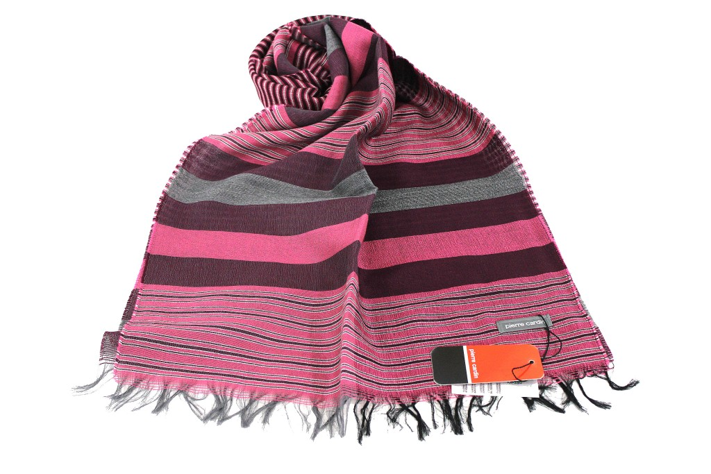 Man s scarf Pierre Cardin Pashmina Jacquard line Jc3608 pink Made In Italy 4f6c8928bfed8