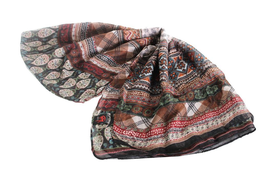 promo code 8852f 6095e Woman's scarf Gm by Gai Mattiolo pashmina online gift black sc07
