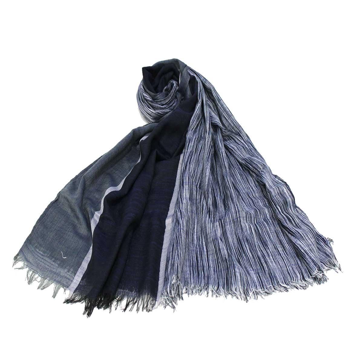 vendita calda online 8ceb3 ddd50 Sciarpa uomo Coveri collection pashmina 192035 blu