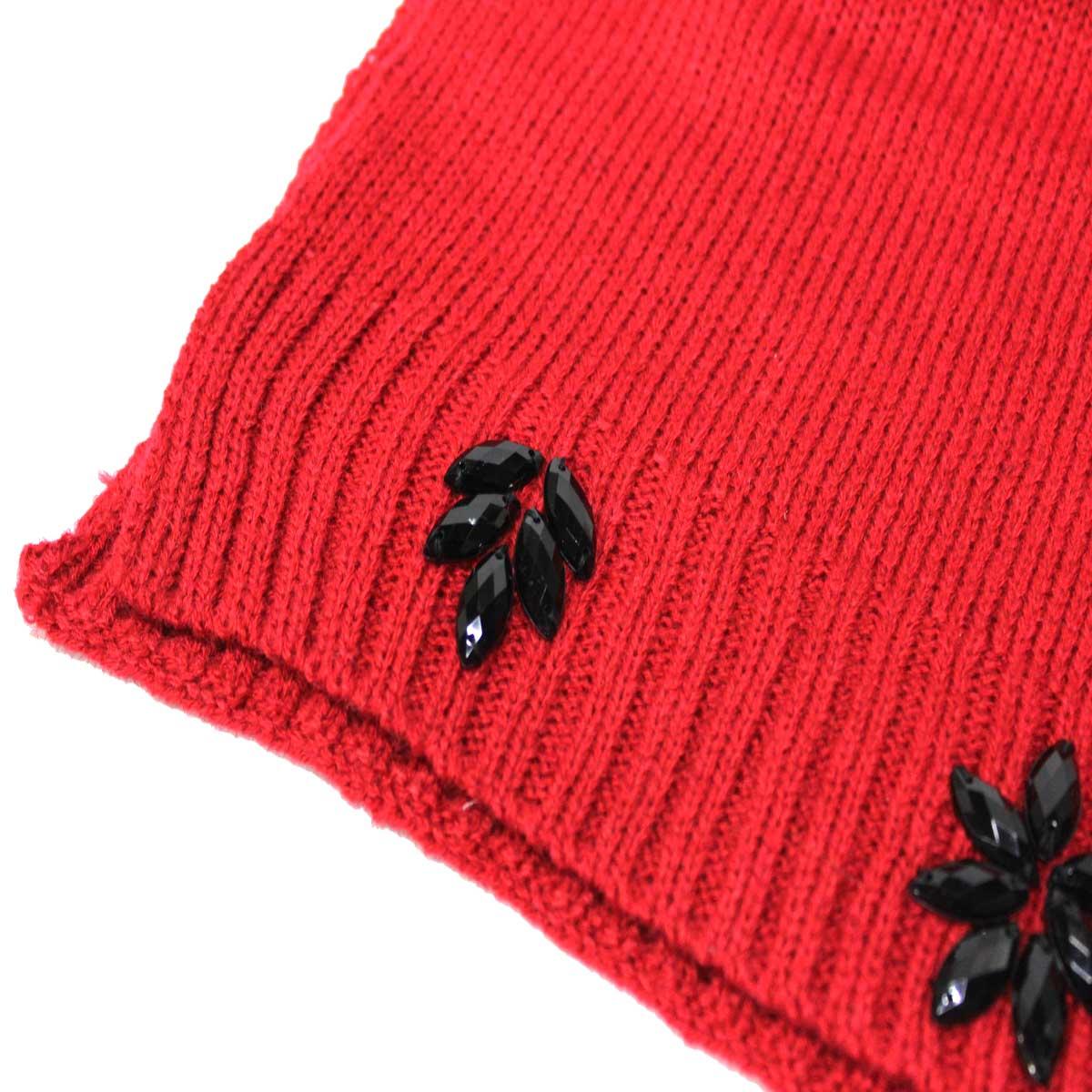 Sciarpa ragazza rosso rosso Taglia unica Minnie