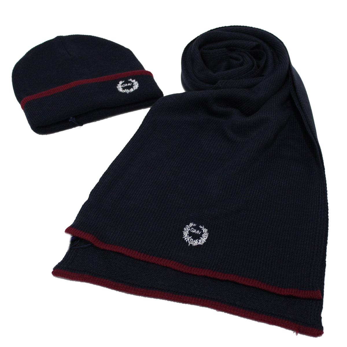 Men s acrylic hat and scarf set 100% acrylic in box Gian Marco Venturi  71763 blu 67ee6f77e21a